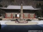 An temple near the Kim Jong-il friendship palace, North Korea.