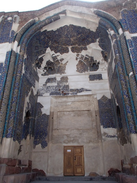 Blue Mosque, Tabriz, Iran.