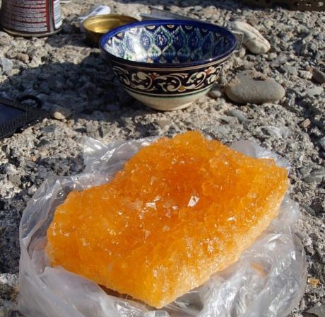 Crystallised Sugar that we were gifted.
